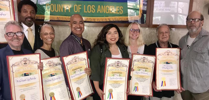 Center's LGBT Senior Vets Honored by L.A.'s Board of Supervisors
