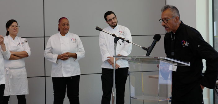Cream of the Crop! The Center Celebrates First Graduates of Culinary Arts Program