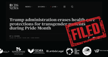 Center Joins Lawsuit to Block HHS's Anti-LGBTQ Health Care Rule