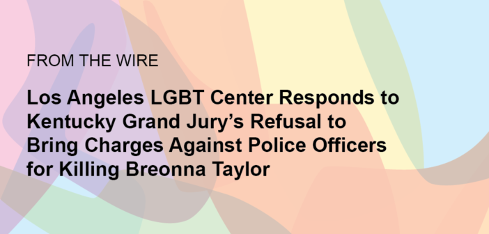Center Responds to Kentucky Grand Jury's Refusal to Bring Charges Against Police Officers for Killing Breonna Taylor