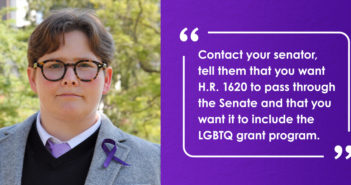 Center Fights for Federal Amendment Supporting Grant Program for LGBTQ+ Survivors of Domestic Violence, Sexual Assuault