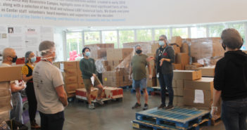 The Center's Pride Pantry Volunteers and Staff Distribute More Than 44 Tons of Produce During Its First Year