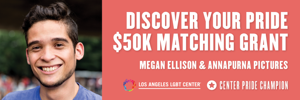 Discover Your Pride $50k Matching Grant