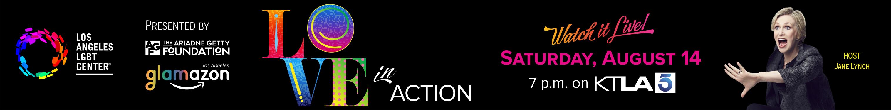 Love in Action August 14 on KTLA