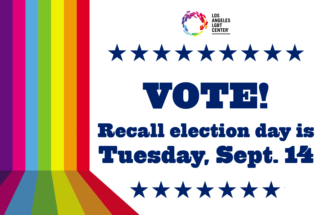 Vote! Election day is Tuesday, September 14