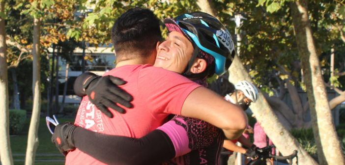 After 20 Months Apart, Emotions Overflow at AIDS/LifeCycle Kickoff Training Ride