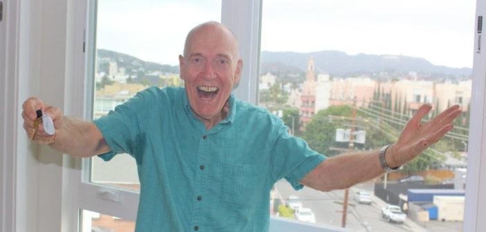 New Senior Housing Resident Mark Simon Loves His View of the Hollywood Sign