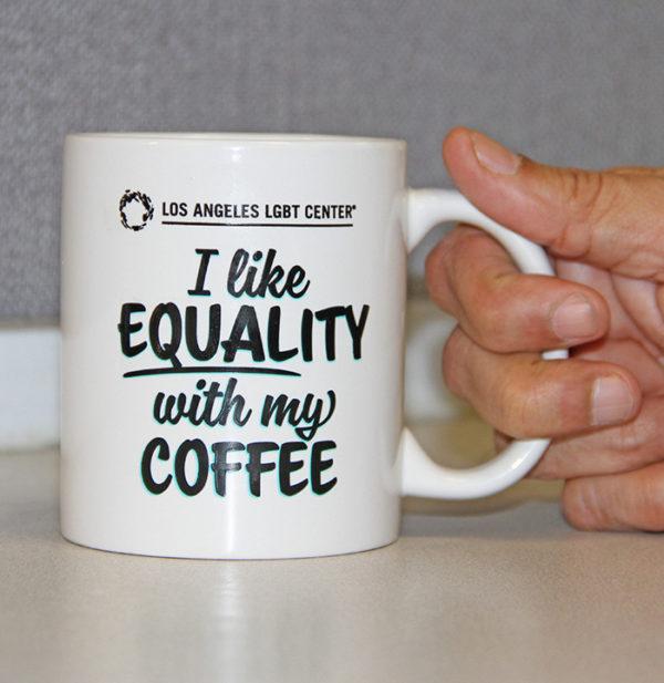 Los Angeles LGBT Center Equality Mug