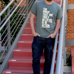 Los Angeles LGBT Center Proof is in Action T-Shirt