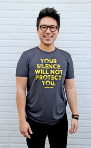 Los Angeles LGBT Center Silence T-Shirt